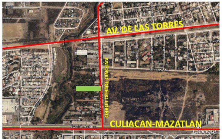 Foto de terreno habitacional en venta en antonio toledo corro 17, bosques del arroyo, mazatlán, sinaloa, 1573356 no 04