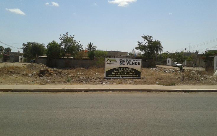 Foto de terreno habitacional en venta en  , antonio toledo corro, culiacán, sinaloa, 1860552 No. 01
