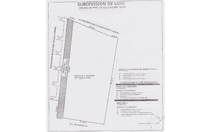 Foto de terreno habitacional en venta en  , arboledas, aldama, tamaulipas, 1255535 No. 01