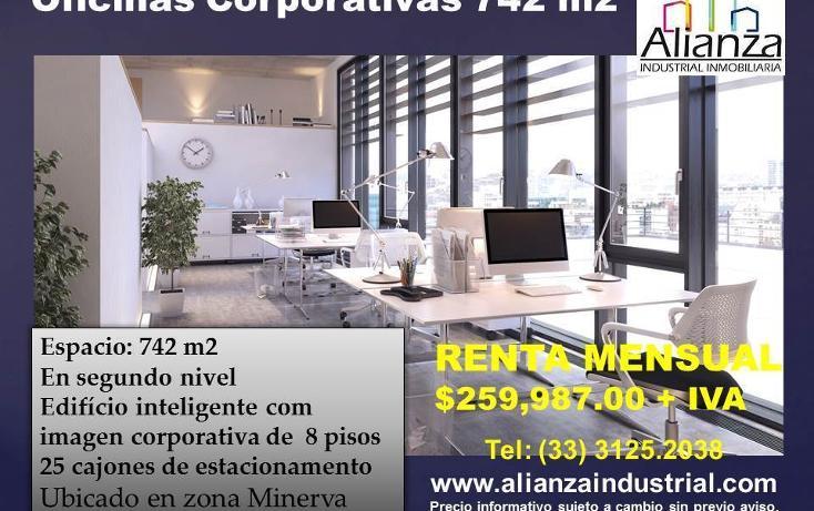 Foto de oficina en renta en  , arcos vallarta, guadalajara, jalisco, 2013210 No. 01
