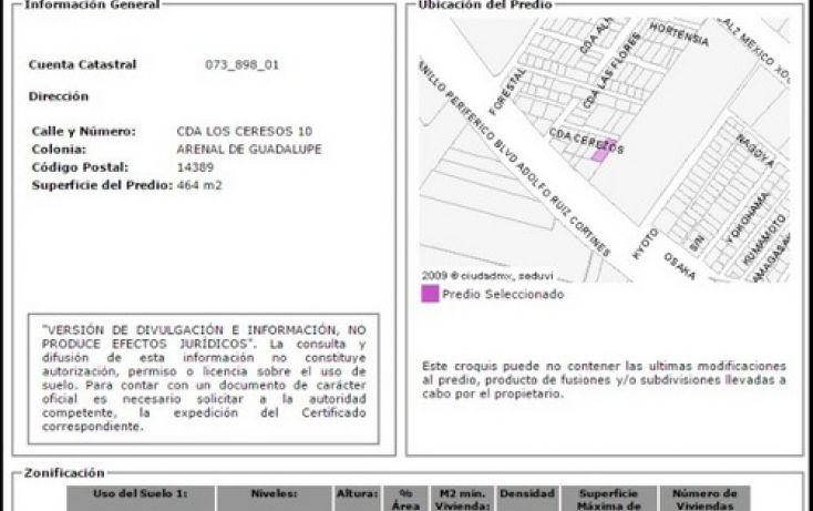 Foto de terreno habitacional en venta en, arenal de guadalupe, tlalpan, df, 2027007 no 04