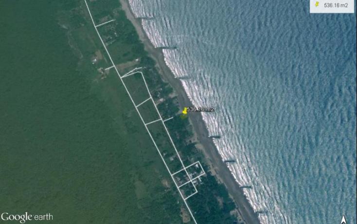 Foto de terreno habitacional en venta en arrecife, playa azul, tuxpan, veracruz, 616328 no 02