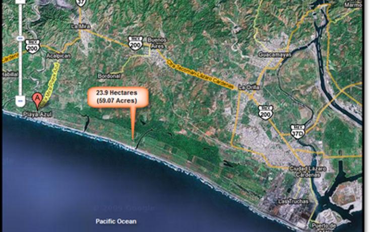 Foto de terreno comercial en venta en, aserradero, lázaro cárdenas, michoacán de ocampo, 1108623 no 01
