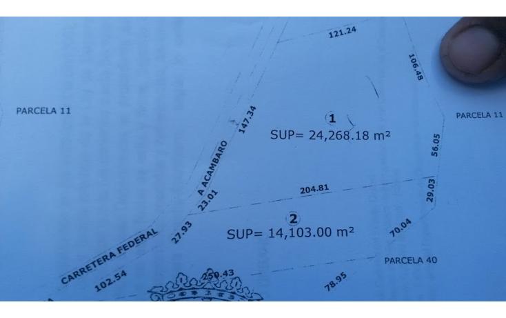 Foto de terreno comercial en venta en  , atapaneo, morelia, michoacán de ocampo, 1829382 No. 02