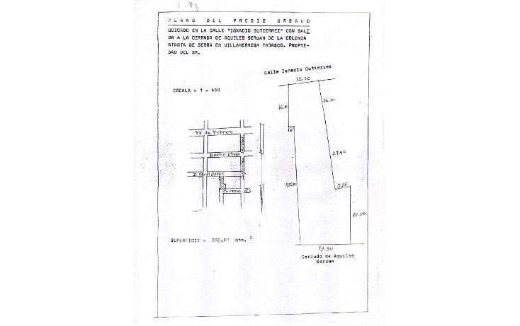 Foto de terreno habitacional en venta en  , atasta, centro, tabasco, 1079477 No. 03