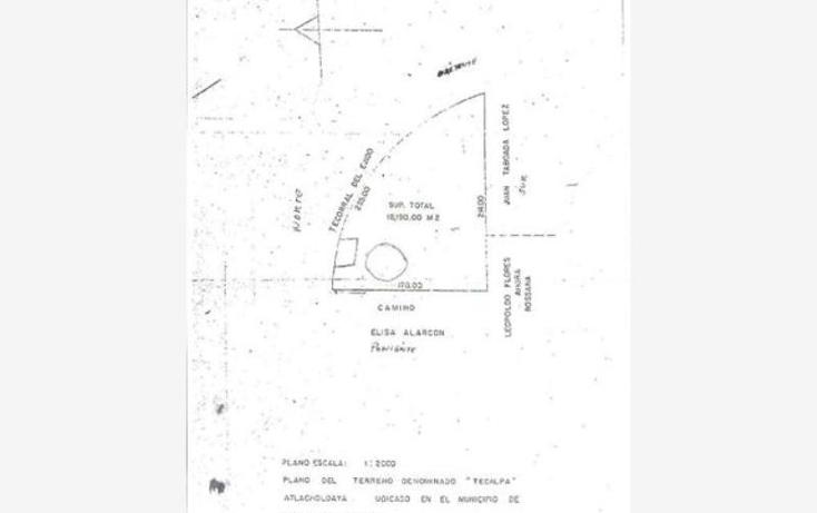 Foto de terreno habitacional en venta en  -, atlacholoaya, xochitepec, morelos, 1105331 No. 08