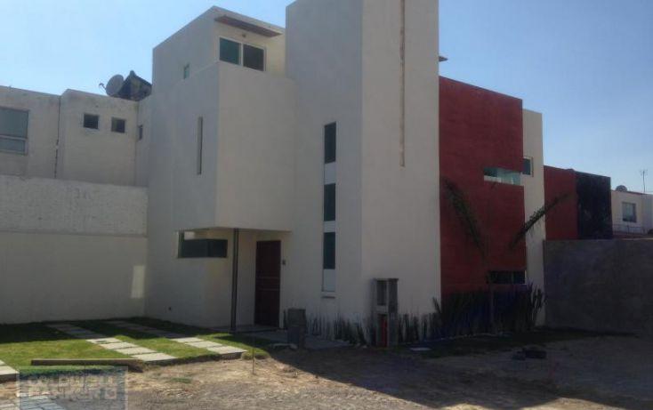 Foto de casa en condominio en venta en atlaco, santiago momoxpan, san pedro cholula, puebla, 1654441 no 01