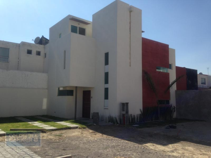 Foto de casa en condominio en venta en  , santiago momoxpan, san pedro cholula, puebla, 1654441 No. 01
