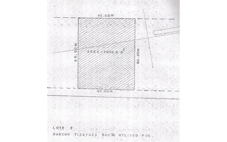 Foto de terreno habitacional en venta en  , atlixco centro, atlixco, puebla, 1300621 No. 01