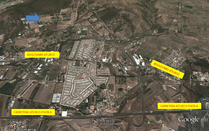 Foto de terreno habitacional en venta en  , atlixco centro, atlixco, puebla, 1300621 No. 03