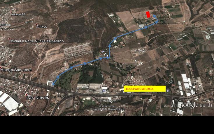 Foto de terreno habitacional en venta en  , atlixco centro, atlixco, puebla, 1300621 No. 04