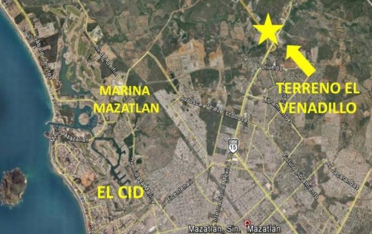 Foto de terreno comercial en venta en  0, el venadillo, mazatlán, sinaloa, 1400979 No. 02