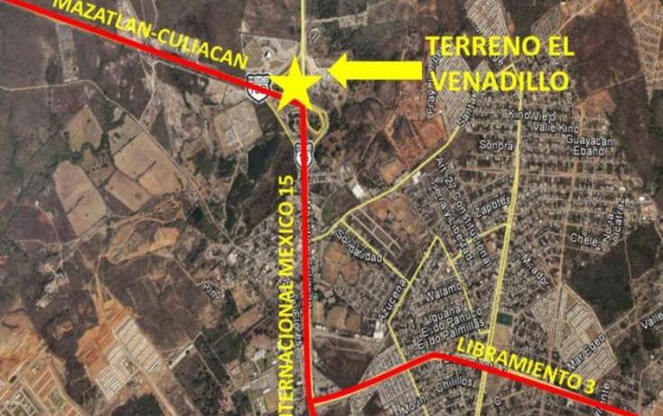 Foto de terreno comercial en venta en  0, el venadillo, mazatlán, sinaloa, 1400979 No. 03
