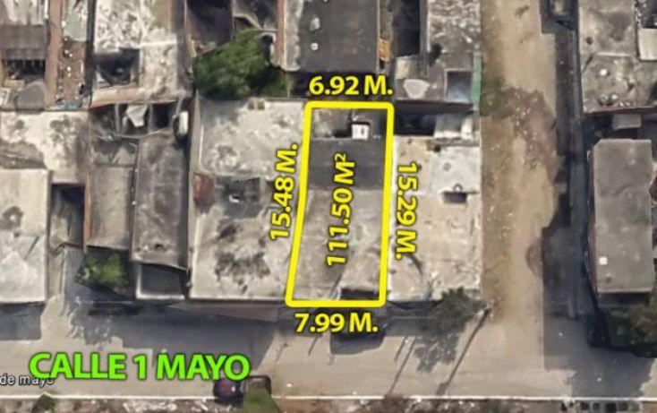 Foto de terreno habitacional en venta en av 1 ero de mayo 2, estero, mazatlán, sinaloa, 1899864 no 01