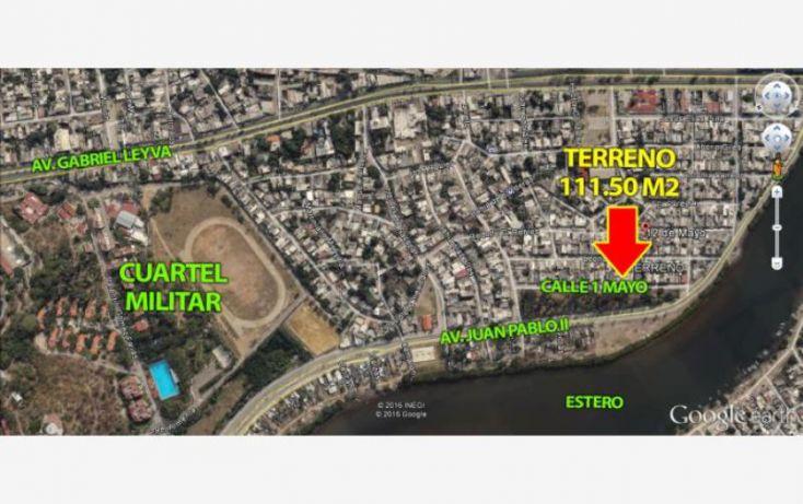 Foto de terreno habitacional en venta en av 1 ero de mayo 2, estero, mazatlán, sinaloa, 1899864 no 03