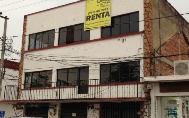Foto de edificio en renta en av 21 de octubre esquina c cenobio aguilas 117, san jacinto, chiapa de corzo, chiapas, 1395011 no 01