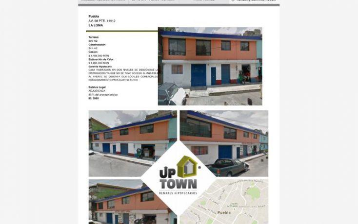 Foto de casa en venta en av 68 68, la loma ejido romero vargas, puebla, puebla, 1412689 no 01