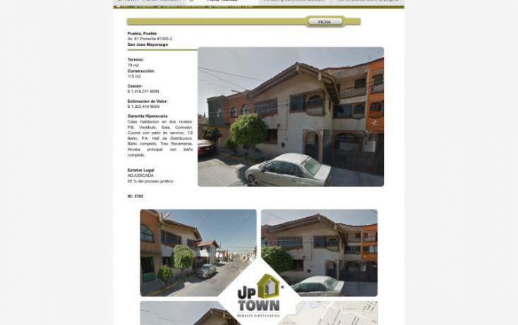 Foto de casa en venta en av 81 poniente 1305, san josé mayorazgo, puebla, puebla, 1412819 no 01