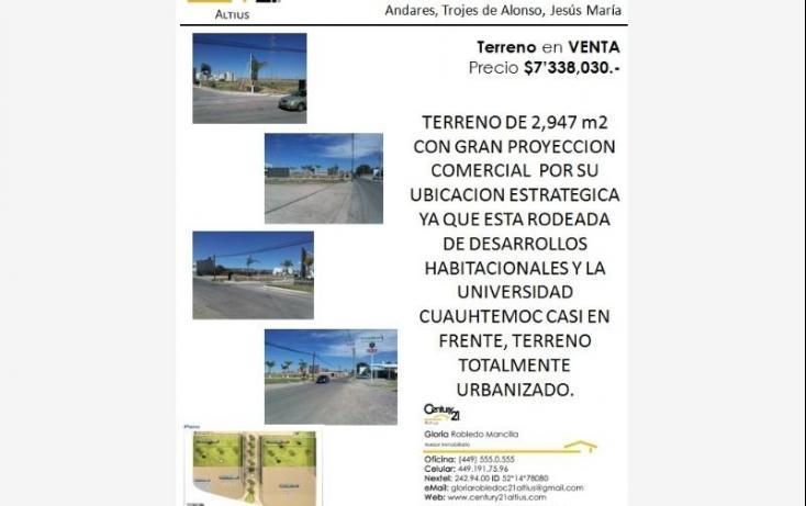 Foto de terreno comercial en venta en av adolfo lopez mateos 205, zona centro, aguascalientes, aguascalientes, 403855 no 01