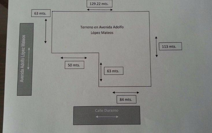 Foto de terreno habitacional en venta en av adolfo lopez mateos 400, rancho san lucas, metepec, estado de méxico, 1849298 no 02