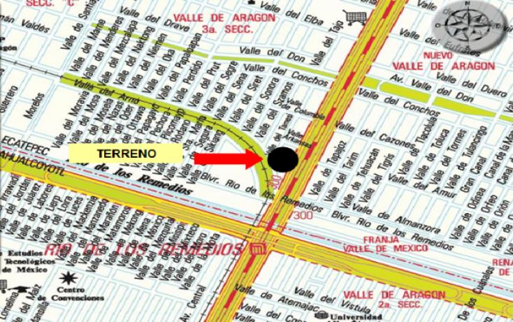 Foto de terreno habitacional en venta y renta en av central carlos hank gonzalez, valle de aragón 3ra sección poniente, ecatepec de morelos, estado de méxico, 1525668 no 01