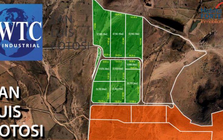 Foto de terreno habitacional en venta en av central parque logistico, zona industrial, san luis potosí, san luis potosí, 1477005 no 01