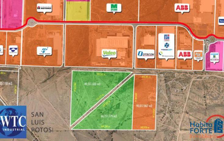 Foto de terreno habitacional en venta en av central parque logistico, zona industrial, san luis potosí, san luis potosí, 1486709 no 01