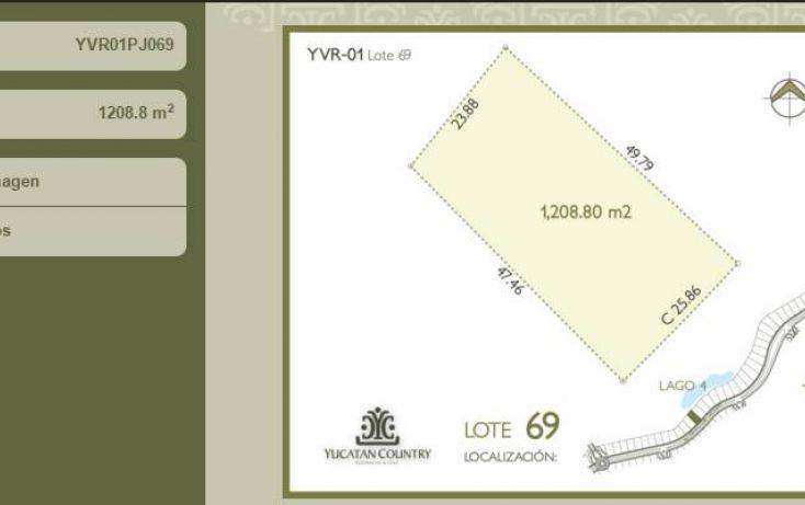 Foto de terreno habitacional en venta en av del jaguar 69, alcalá martín, mérida, yucatán, 1719598 no 01