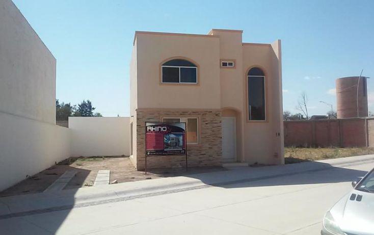 Foto de casa en venta en av del valle y cam a san ignacio, línea de fuego, aguascalientes, aguascalientes, 1535024 no 01