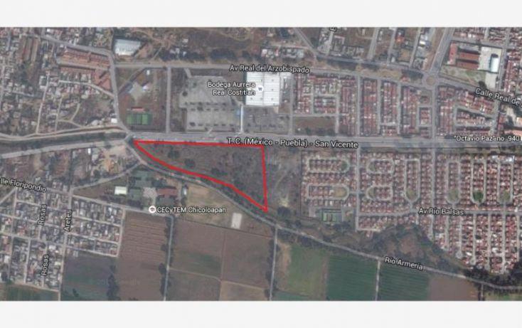 Foto de terreno habitacional en venta en av emiliano zapata 1, bonito san vicente, chicoloapan, estado de méxico, 1782514 no 01
