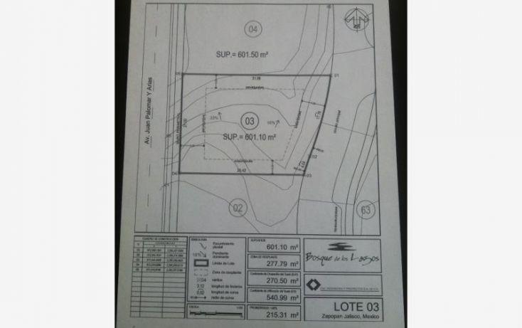 Foto de terreno habitacional en venta en av juan palomar y arias 1180, jacarandas, zapopan, jalisco, 1699558 no 01
