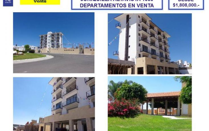 Foto de departamento en venta en av jurica san juan 1050, azteca, querétaro, querétaro, 1755550 no 02