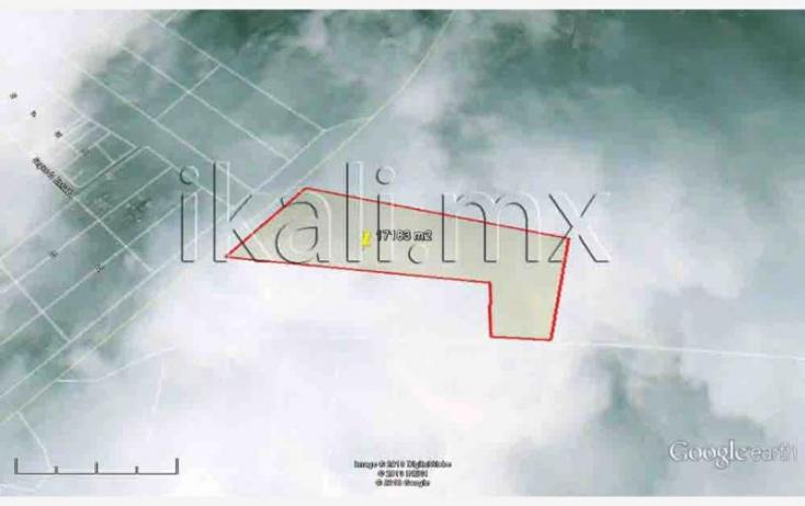 Foto de terreno habitacional en venta en av las americas, jesús reyes heroles, tuxpan, veracruz, 577638 no 01
