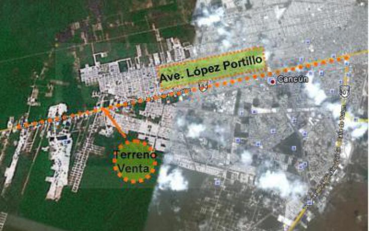 Foto de terreno habitacional en venta en av lopez portillo, smza 104, mza 33, lte 704, cancún centro, benito juárez, quintana roo, 1753832 no 06