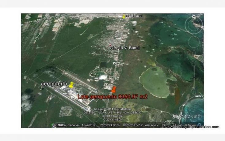 Foto de terreno comercial en venta en av luis donaldo colosio esq bv kukulkan 1, alfredo v bonfil, benito juárez, quintana roo, 562744 no 02