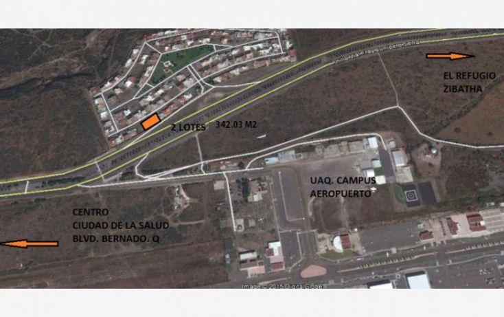 Foto de terreno habitacional en venta en av misión concá 3000, misión de concá, querétaro, querétaro, 1565608 no 03