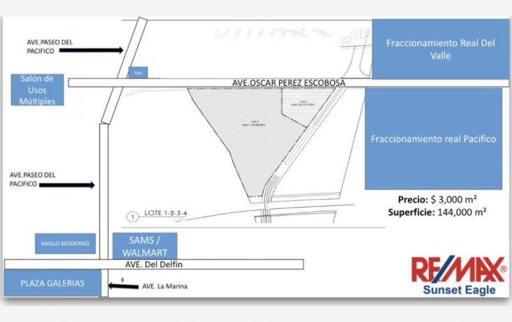 Foto de terreno comercial en venta en av oscar perez escobosa 3, real del valle, mazatlán, sinaloa, 1437357 no 02