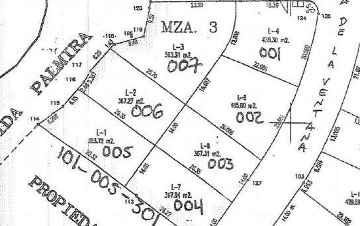 Foto de terreno habitacional en venta en av palmira lote 005, lomas de palmira, la paz, baja california sur, 1721150 no 04