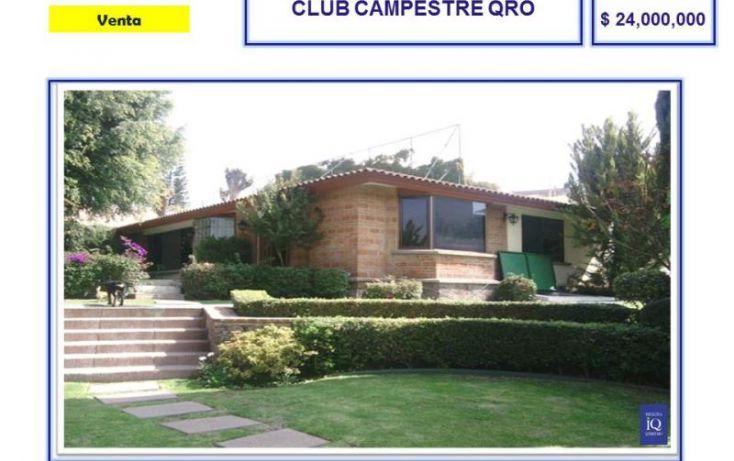 Foto de casa en venta en av principal frente a green, cerca a caballerizas, del valle, querétaro, querétaro, 754185 no 02