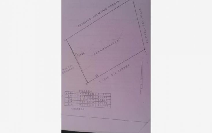 Foto de terreno comercial en venta en av prolongación francisco villa 1, miravalle, gómez palacio, durango, 1760904 no 01