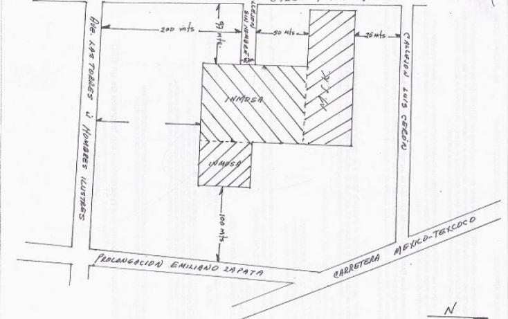 Foto de terreno habitacional en venta en av puebla 170, jardín de los reyes, la paz, estado de méxico, 222440 no 09