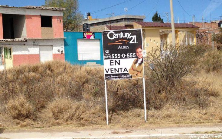 Foto de terreno habitacional en renta en av san gabriel, la estancia, jesús maría, aguascalientes, 1670882 no 01