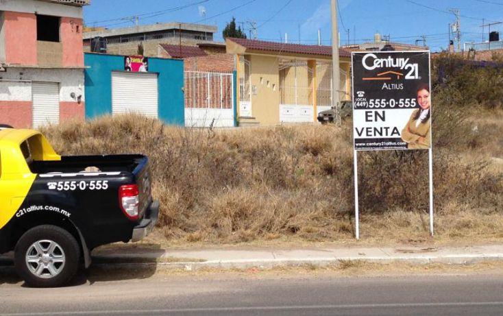 Foto de terreno habitacional en renta en av san gabriel, la estancia, jesús maría, aguascalientes, 1670882 no 02