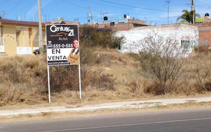 Foto de terreno habitacional en renta en av san gabriel, la estancia, jesús maría, aguascalientes, 1670882 no 03