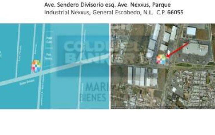 Foto de terreno habitacional en renta en av sendero divisorio escobedo, parque industrial nexxus xxi, general escobedo, nuevo león, 1056195 no 01