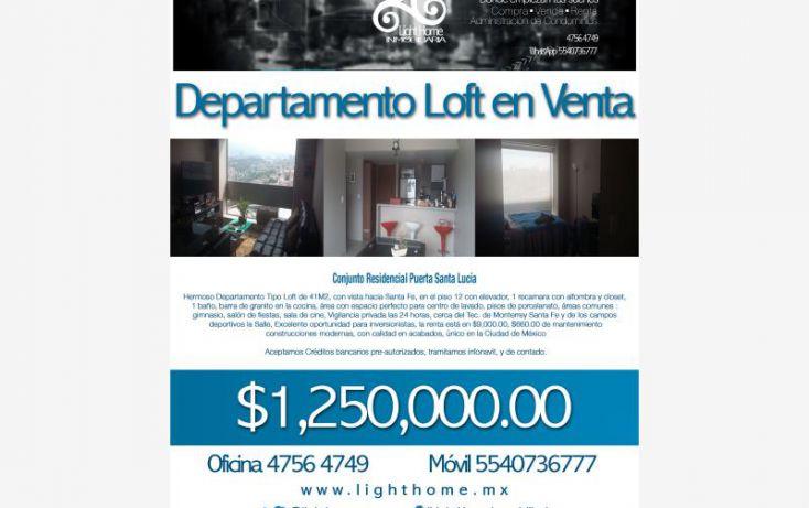 Foto de departamento en venta en av tamaulipas 1236, los cedros, álvaro obregón, df, 1838232 no 01