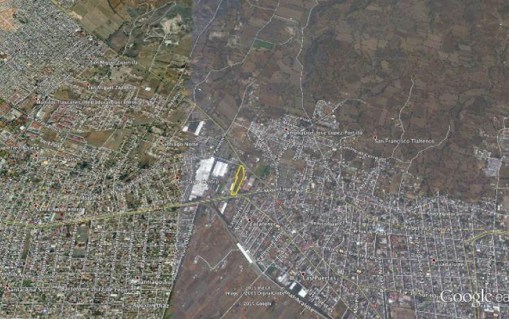 Foto de terreno habitacional en venta en av tlahuac, santiago centro, tláhuac, df, 1309649 no 03