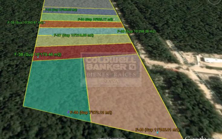 Foto de terreno habitacional en venta en av tulum 319, tulum centro, tulum, quintana roo, 328891 no 04