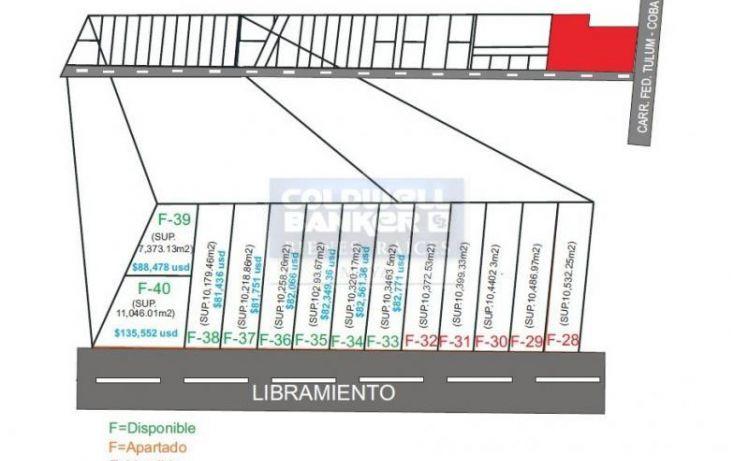 Foto de terreno habitacional en venta en av tulum 319, tulum centro, tulum, quintana roo, 328893 no 01