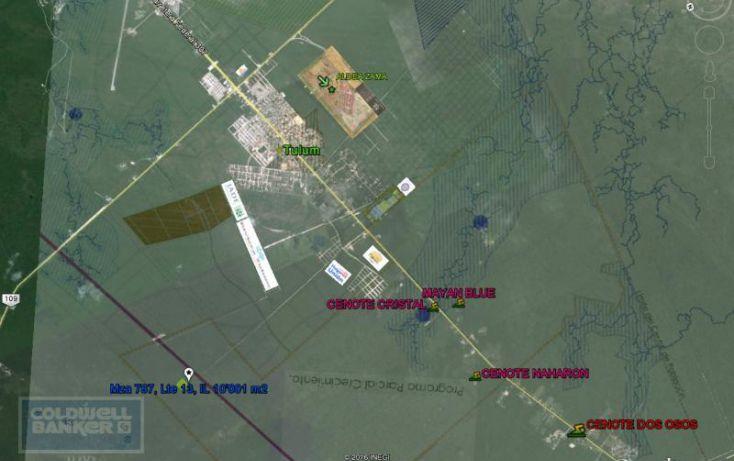 Foto de terreno habitacional en venta en av tulum 319, tulum centro, tulum, quintana roo, 328910 no 01